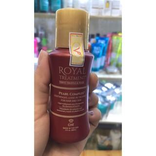 Tinh dầu dưỡng tóc CHI Royal Treatment Pearl Complex cho tóc khô xơ rối hư tổn 59ml chính hãng thumbnail