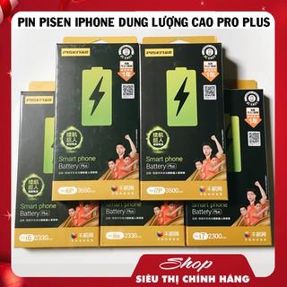 [Mã 208ELSALE hoàn 7% đơn 300K] PIN PISEN IPHONE DUNG LƯỢNG CAO FULL DÒNG – 6 ĐẾN XSM