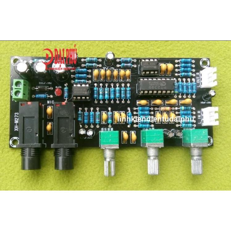 Mạch Karaoke XH-M273 dùng nguồn DC12-24V