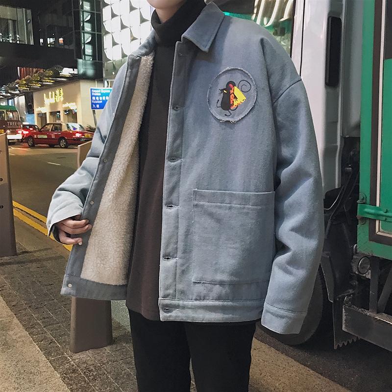 Áo Khoác Denim Hàn Quốc