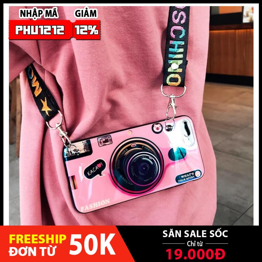 Ốp Lưng Iphone ❤️Mã PHUK2 Giảm 20k️&FREESHIP❤️ Hình Camera sang chảnh cho IPhone 6/6s/6plus/7/8Plus,X/Xs Max/11Promax