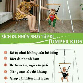 [Nhập TKBSUPERSALE1 giảm 10%] Tặng quà trị giá 100k,lh shop chọn quà Xích đu nhún nhảy cho bé JUMPER KIDS