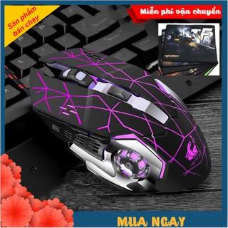 Chuột game thủ cực bền thiết kế độc lạ có V5 PRO LED nhiều màu thumbnail