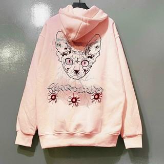 Áo Khoác Hoodie Hình Mèo Rừng Unisex_KN19 thumbnail