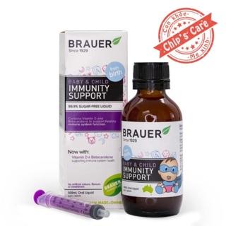 Brauer Immunity Support Tăng đề kháng cho bé