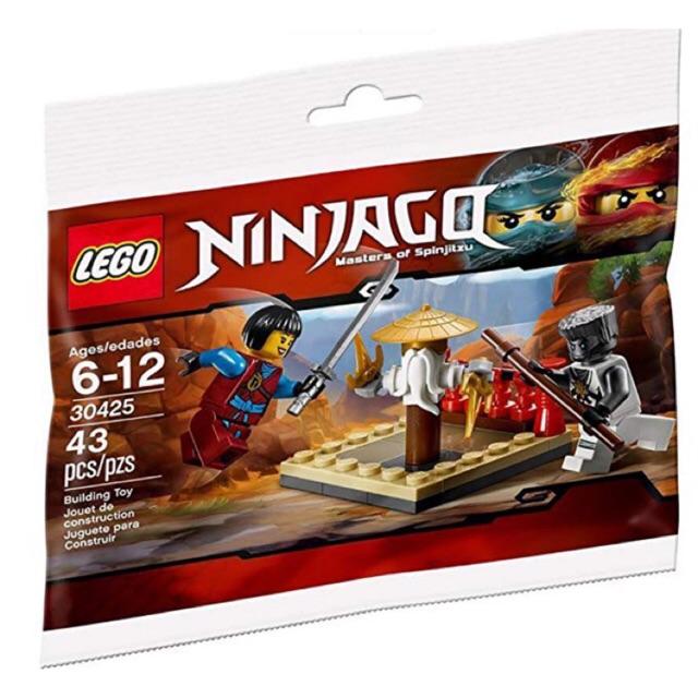 Lego Ninjago 30425 – CRU Masters' Training Grounds polybag – Bộ xếp hình Lego Bãi huấn luyện ninja