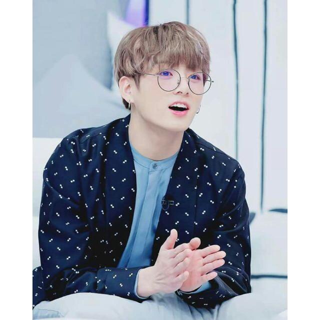 Kính bts kính jungkook kính mắt nam nữ thời trang cực đẹp hot phong cách Hàn Quốc cá tính đi học đi chơi tiện dụng