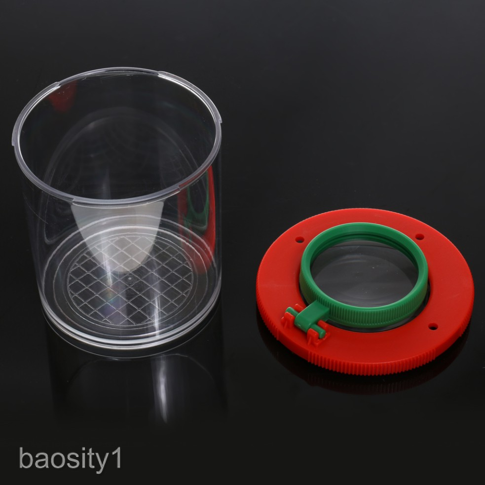 Bug Box Magnify Insect Viewer With 2 Lens Magnification Childs Garden Toy