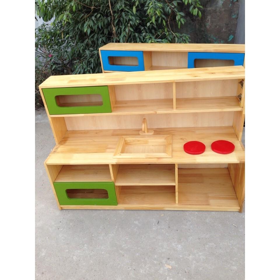 Giá gỗ đồ chơi