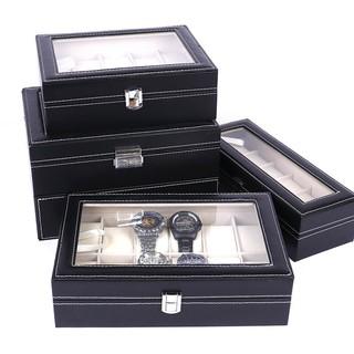 SKMEI Slots PU Leather Watch Storage Box thumbnail