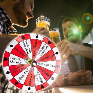 Vòng quay ăn nhậu, Vòng quay vui chơi ăn nhậu uống bia dành cho các buổi tiệc tùng cực vui nhộn – Do_luu_niem