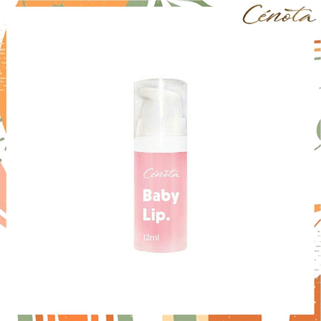 Gel tẩy da chết Cénota Baby Lip, Gel tẩy da chết trị thâm môi - C41
