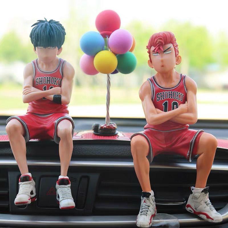 Sakuragi Flower Road Figure Slam Dunk Master Rukawa Maple Anime Model Toy Case Net Red Doll Car Trang tríone piece
