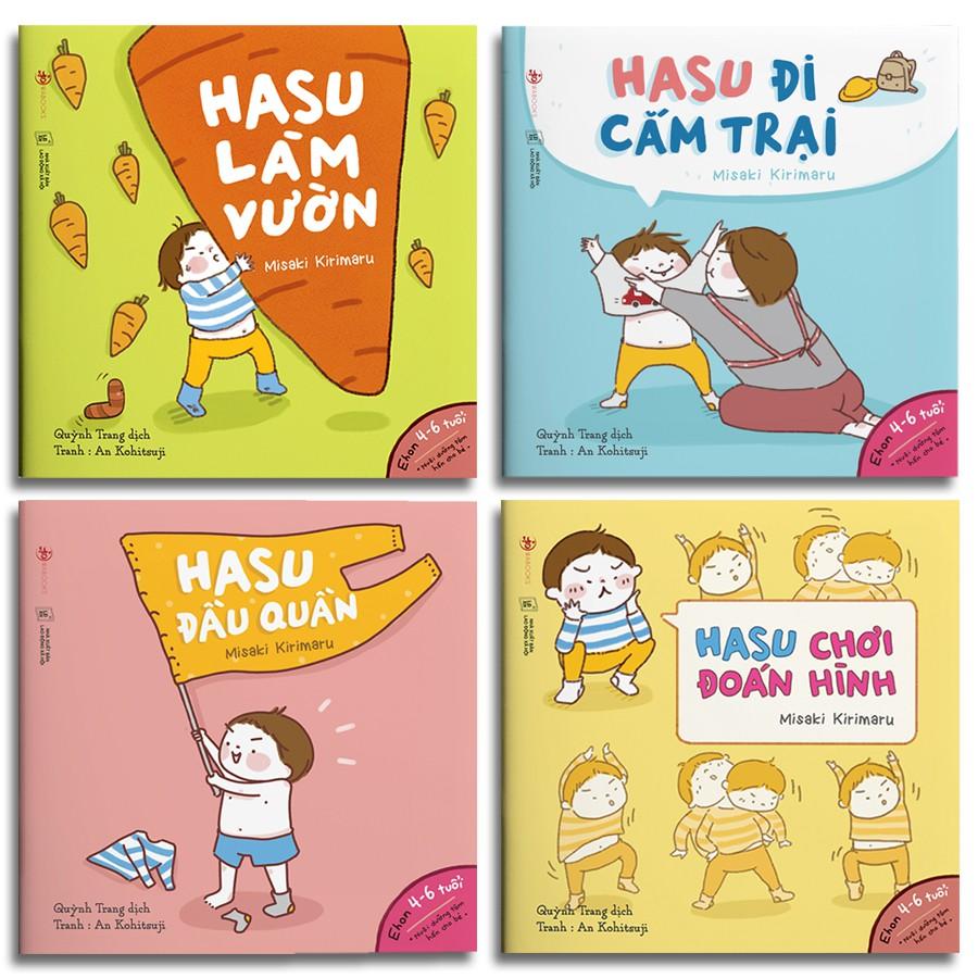 Sách - Ehon Hasu (Combo 4 quyển, lẻ tùy chọn)