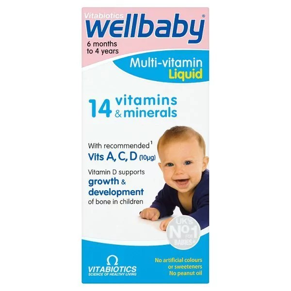 Vitamin Tổng Hợp Wellbaby Tăng Đề Kháng Co Thể Cho Bé Từ 6 Tháng Đến 4 Tuổi
