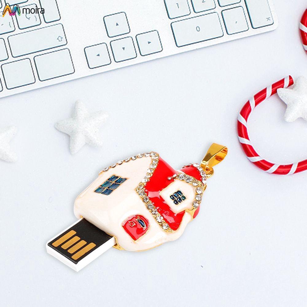 ☽ USB 2.0 flash drive 128MB-64GB color cartoon mobile storage tray Moira