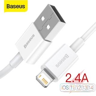 Cáp Dữ Liệu Sạc Nhanh Baseus 2.4A Với Thiết Kế Đơn Giản USB Để Chiếu Sáng Cho Iphone