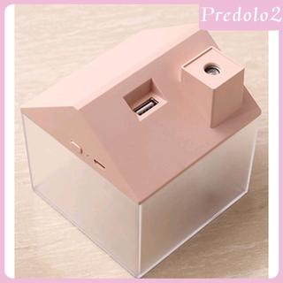 [PREDOLO2] 3-in-1 Mini USB House Humidifier with Minifan+Night Light,Small Air Purifier