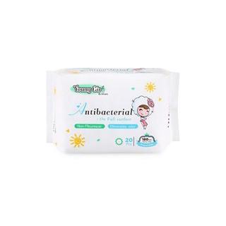 Băng vệ sinh hàng ngày UUcare dòng Young girl kháng khuẩn 18cm/20m