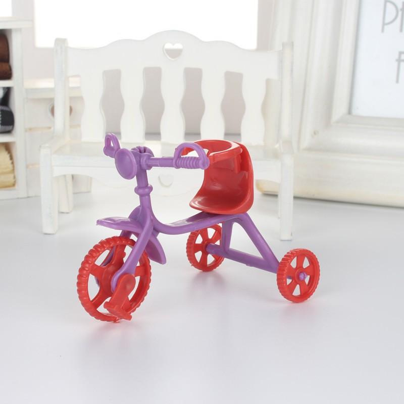 Xe đẩy 3 bánh dành cho búp bê em bé,phụ kiện búp bê đò chơi búp bê Simba