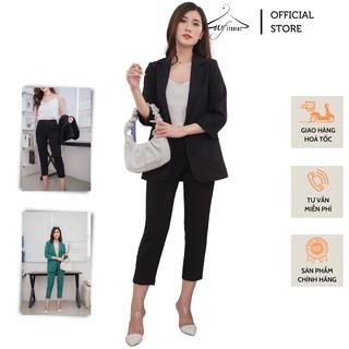 Set áo vest blazer nữ + quần tây - SV02 - WFStudios thumbnail