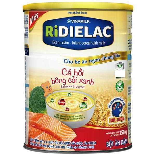 Bột ăn dặm Ridielac Cá hồi bông cải xanh 350g - 14638164 , 653660714 , 322_653660714 , 88000 , Bot-an-dam-Ridielac-Ca-hoi-bong-cai-xanh-350g-322_653660714 , shopee.vn , Bột ăn dặm Ridielac Cá hồi bông cải xanh 350g