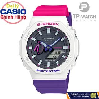 Đồng hồ Unisex Casio G-Shock GA-2100THB-7ADR chính hãng G-Shock GA-2100THB-7A Carbon Core thumbnail