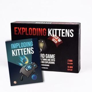 Bài Mèo Nổ Exploding Kittens – Combo Mèo Nổ Chậm (phiên bản 18+) Cao Cấp – EtoysVN – Đồ chơi Board Game