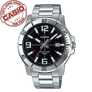 Đồng hồ nam dây thép không gỉ Casio Standard chính hãng Anh Khuê MTP-VD01D-1BVUDF