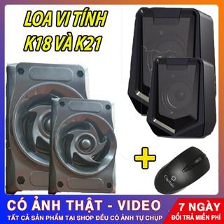 LOA VI TÍNH K18 & K21 – Multimedia Speaker 2.0 | ÂM THANH CỰC CHUẨN