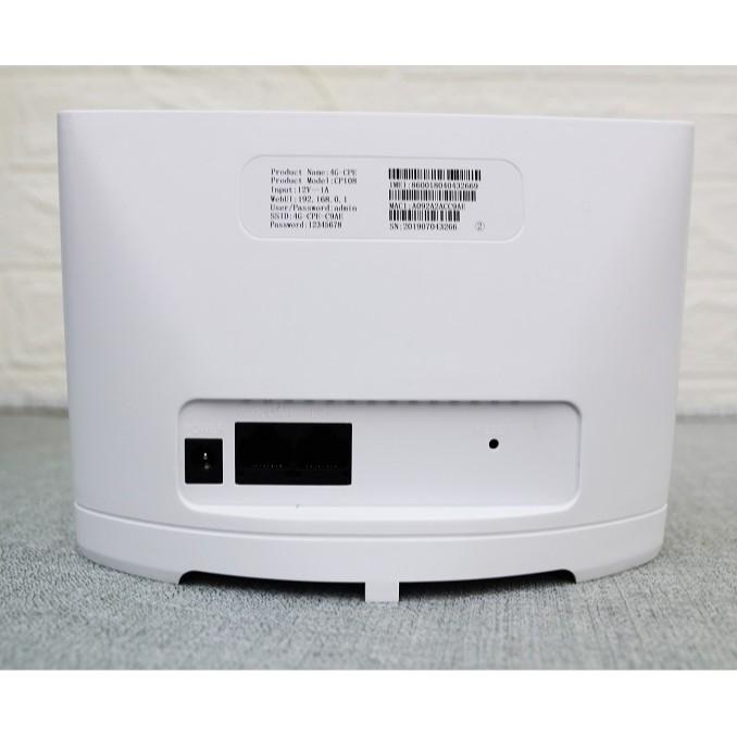 [Siêu khỏe] Bộ Phát WIFI 4G / 3G LTE - CP101 MIXIE - 3 Cổng LAN, 1 WAN, 4 ANTEN  TENDA 4G03, Xe Khách, Lắp Camera HUAWEI