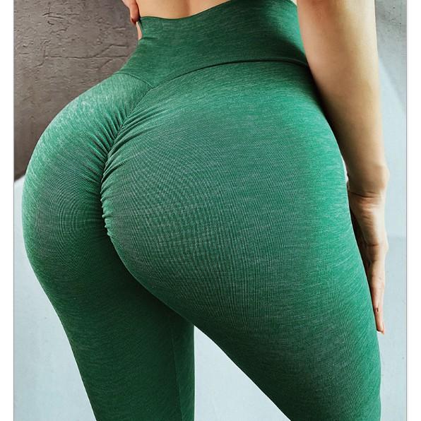 Quần Tập Gym Nữ  [Chất Đẹp], Quần Tập Yoga Nữ Chất Thun Mát , Đồ Tập Gym Nữ Cạp Cao Nâng Mông+C121 , Mã Q1010