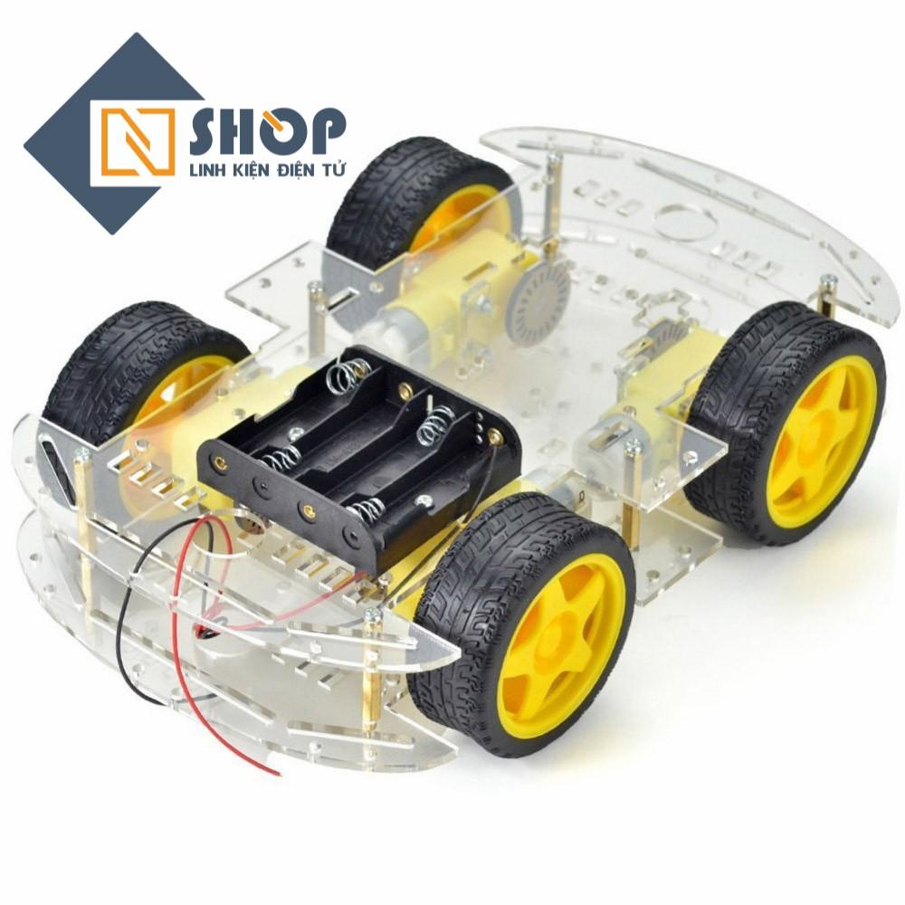 Khung xe robot 2 tầng 4 bánh - 3606557 , 987439664 , 322_987439664 , 165000 , Khung-xe-robot-2-tang-4-banh-322_987439664 , shopee.vn , Khung xe robot 2 tầng 4 bánh