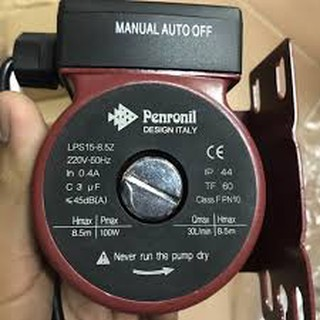 [Mã 157ELSALE hoàn 7% đơn 300K] Máy bơm tăng áp tự động Peroni LPS15-8.5