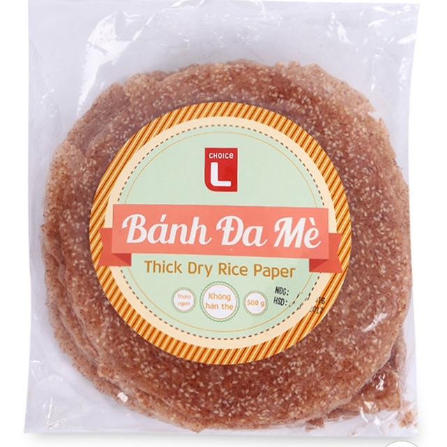 Bánh Đa Mè Gạo Lứt 500g
