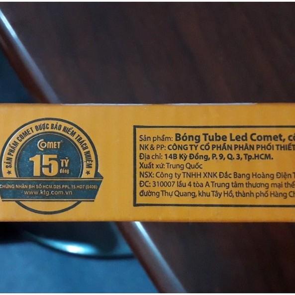 Bóng đèn LED tuýp 1m2 - chính hãng Comet