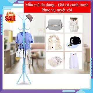 (CHỌN MÀU) Cây treo quần áo tiện lợi, Cây treo mũ nón túi xách làm gọn hành lang và lối vào