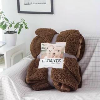 Chăn lông cừu ultimate siêu ấm ( 2m x 2m3 nặng 2,3kg) - Chăn lông cừu Ultmate 2m*2m3