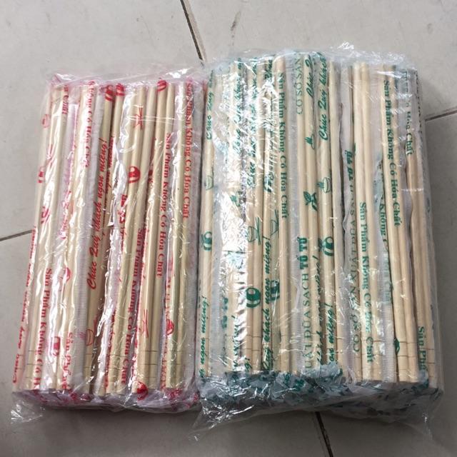 Đũa tre dùng một lần( Gần 100 đôi và 40 đôi) | Shopee Việt Nam