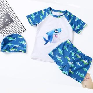 Đồ bơi cho bé trai kèm nón_BT08