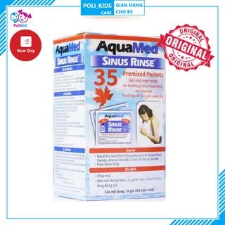 Muối rửa mũi xoang Aquamed (Hộp 35 gói) thumbnail