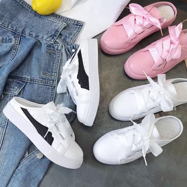 SẴN sục dáng giày thể thao màu hồng 39