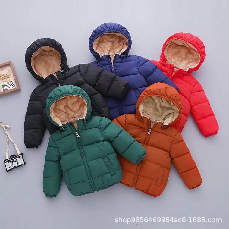 Áo phao lót lông cừu siêu ấm cho bé (hàng quảng châu xịn)