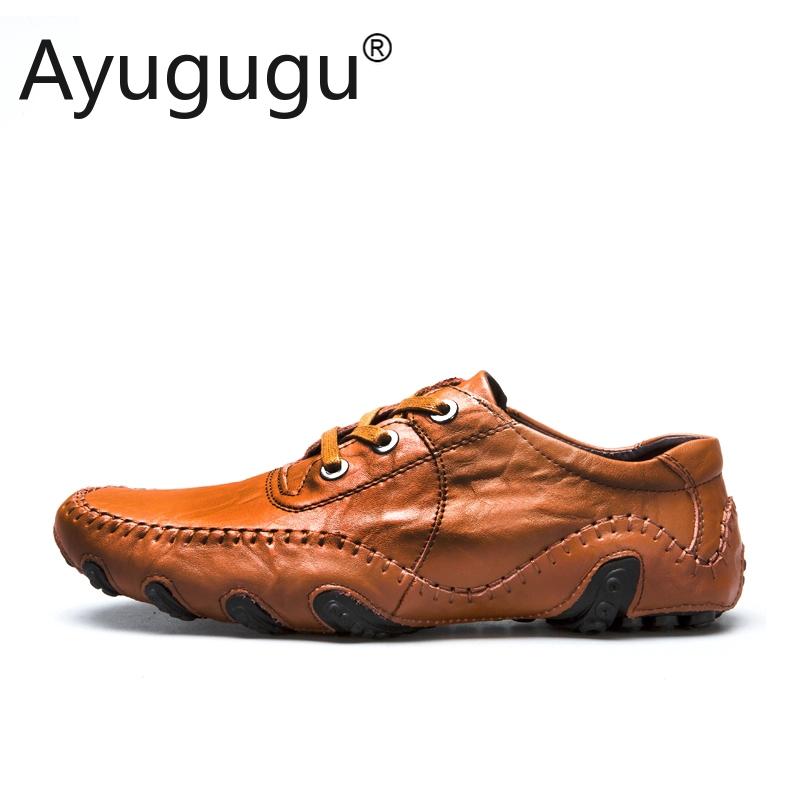 Giày Thể Thao Nam Cỡ Lớn Giày Cao Cấp Thương Hiệu Loafers Giày Da Chính Hãng