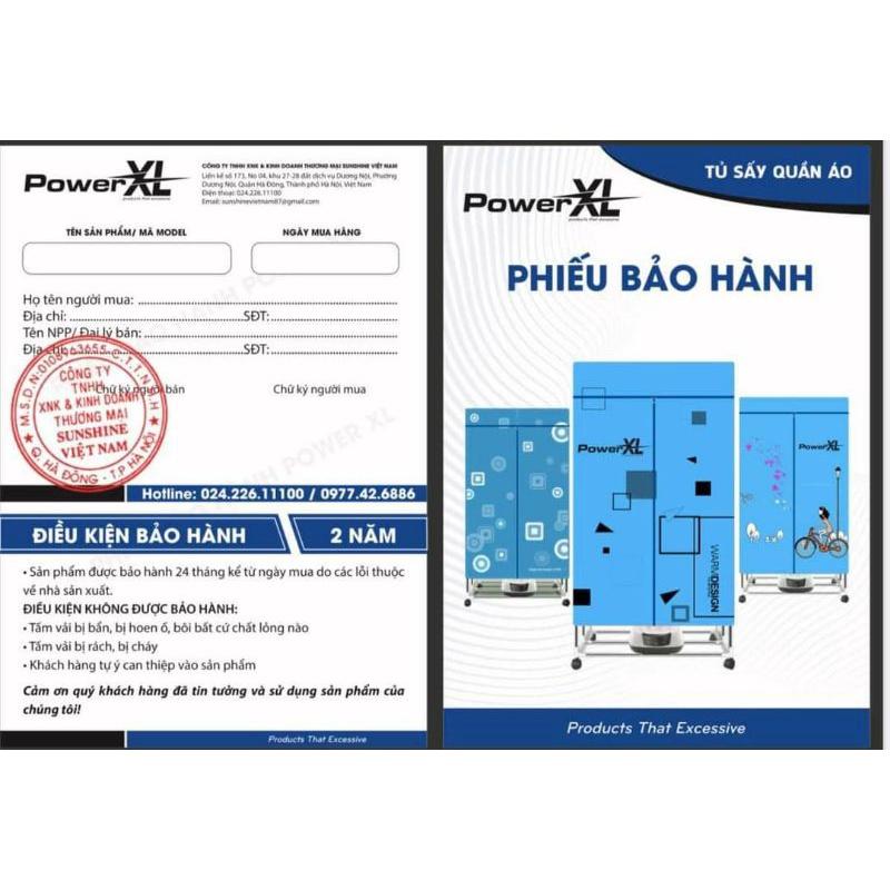 TỦ SẤY QUẦN ÁO POWER XL-6688
