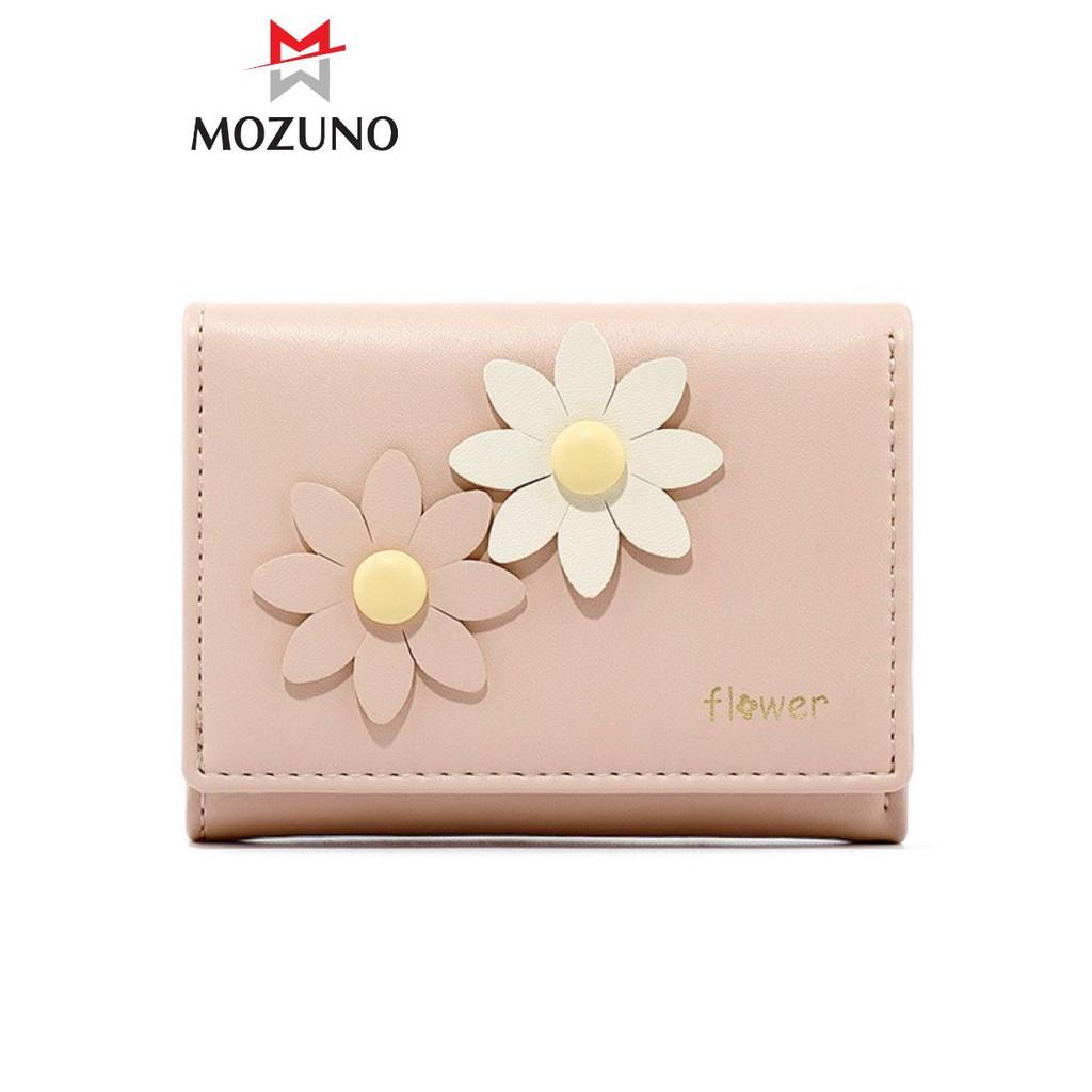 Ví Nữ Mini Đẹp Cầm Tay Chính Hãng TAOMICMIC Mix Hoa Cúc Nổi Cực Xinh Siêu Hót TM19 - Mozuno