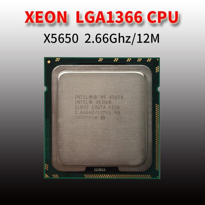 ❅LGA 1366 CPU Central Processor Model X5650 2 66Ghz/12M For Xeon E5 5600  Series
