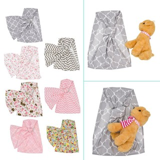 WARM♥Baby Doll Carrier Toy Ring Sling Mei Tai Sling Toy For Kids Childr
