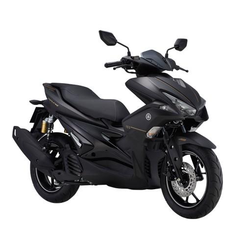 Xe Yamaha NVX 155 Premium 2018 (Đen nhám) + Tặng nón bảo hiểm, áo mưa, móc khóa xe