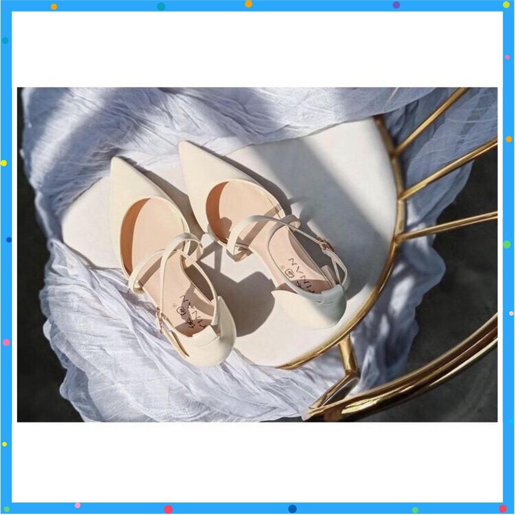 Giày cao gót Hàn Quốc sang trọng (Hot trend)đế nhọn cao 5P LC_C33